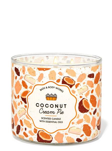 Coconut Cream Pie fragranza Candela a 3 stoppini