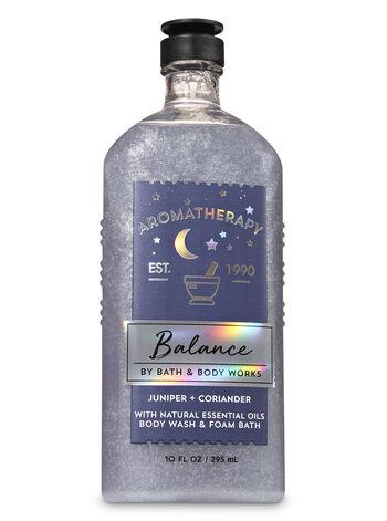 Juniper & Coriander fragranza Body Wash and Foam Bath