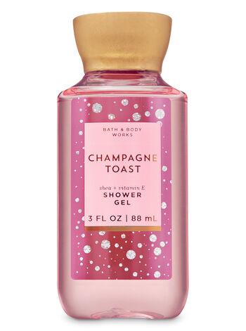 Champagne Toast fragranza Mini Gel doccia