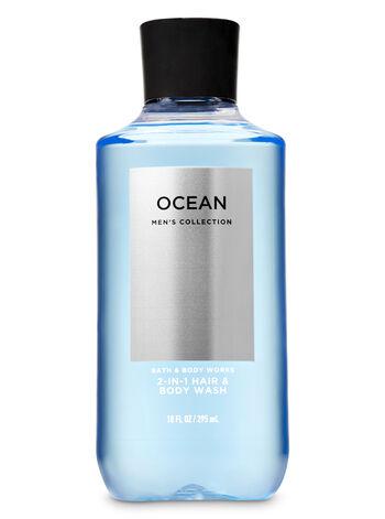 Ocean men fragranza Doccia shampoo 2 in 1