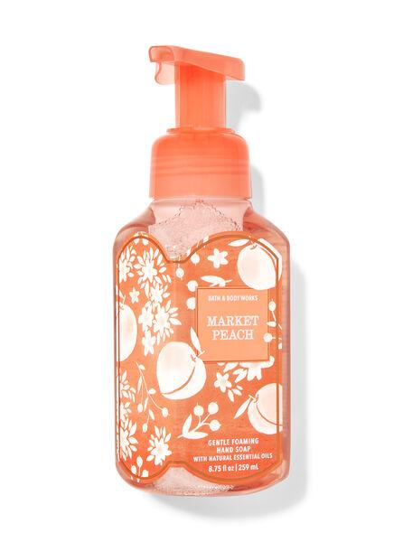 Market Peach fragranza Sapone in schiuma