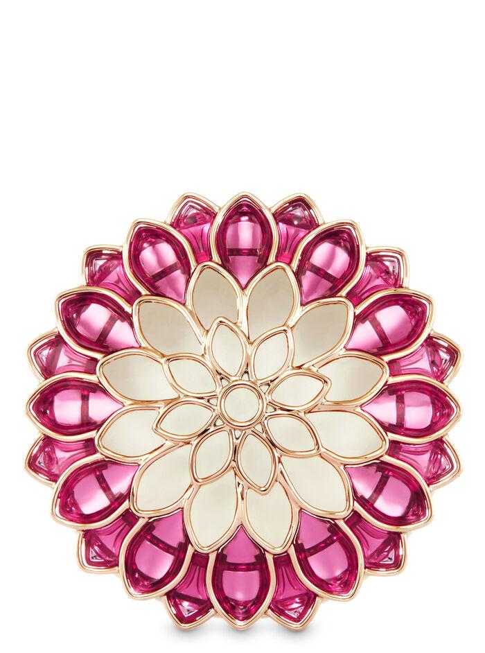 Dahlia Flower Visor Clip fragranza Car Fragrance Holder
