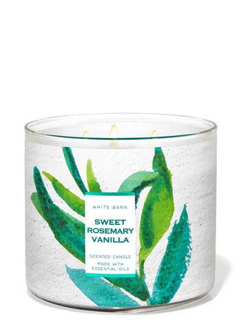 Sweet Rosemary Vanilla fragranza Candela a 3 stoppini