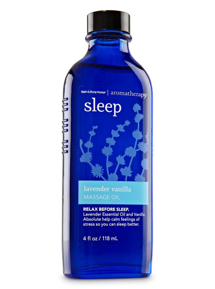 Lavender Vanilla fragranza Massage Oil