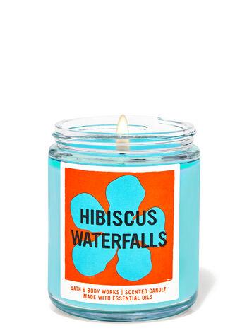 Hibiscus Waterfalls fragranza Candela a 1 stoppino
