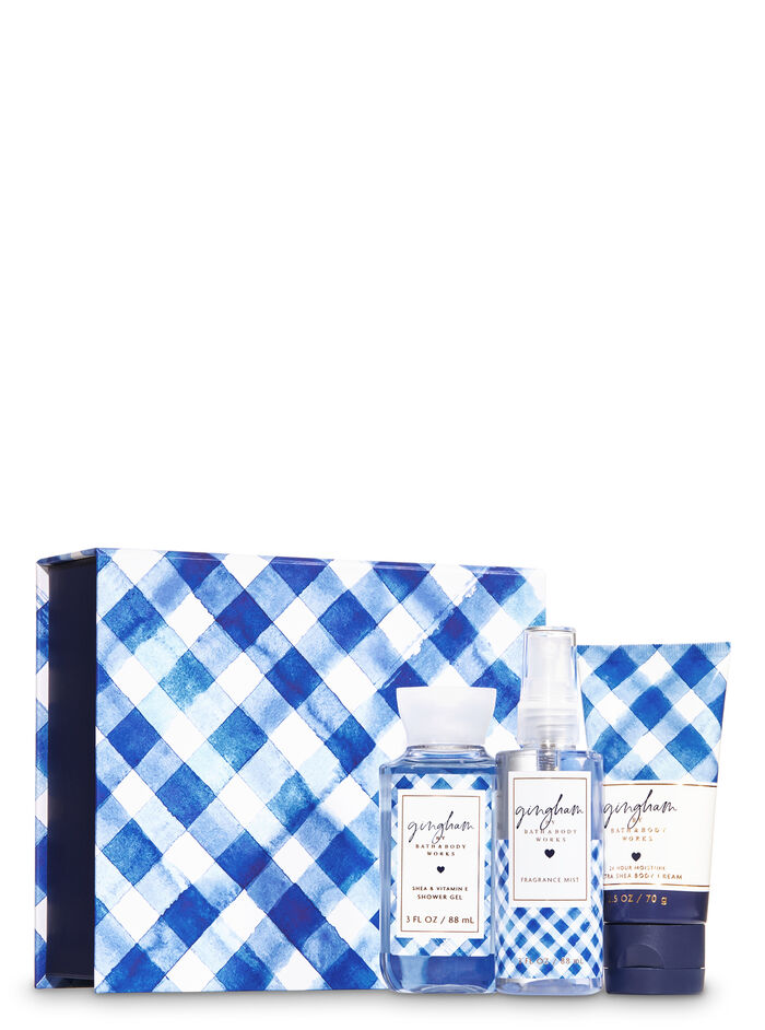 Gingham fragranza Mini Gift Box Set