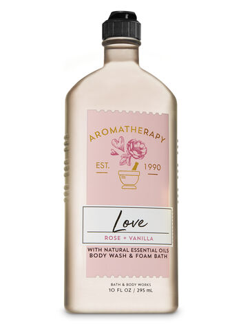Rose Vanilla fragranza Bagnoschiuma
