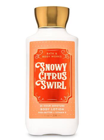 SNOWY CITRUS SWIRL fragranza Latte corpo