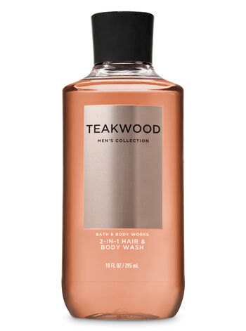 Teakwood fragranza Doccia shampoo 2 in 1