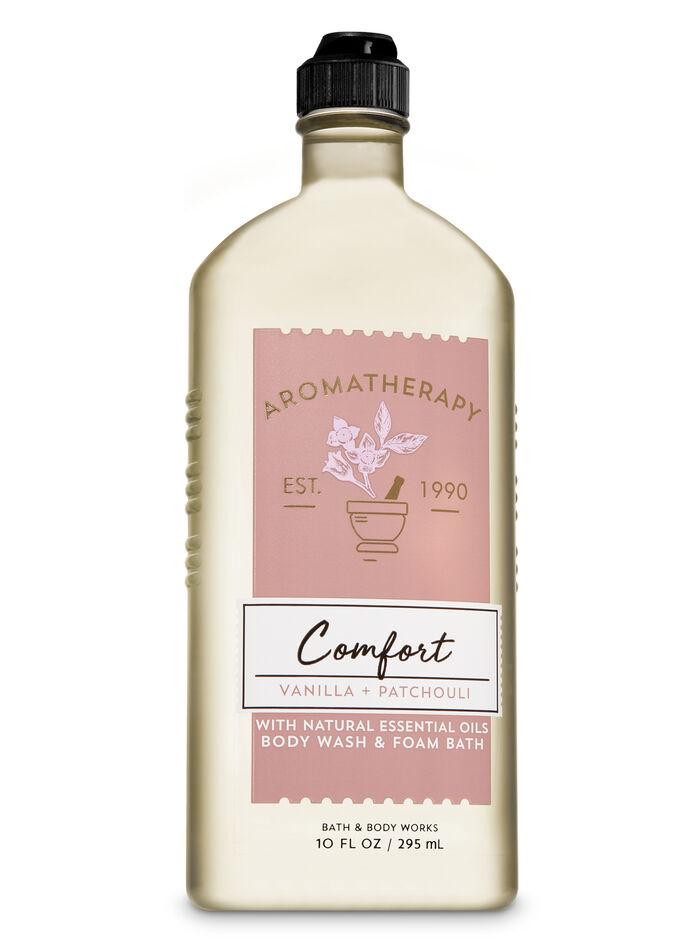 Vanilla Patchouli fragranza Body Wash and Foam Bath