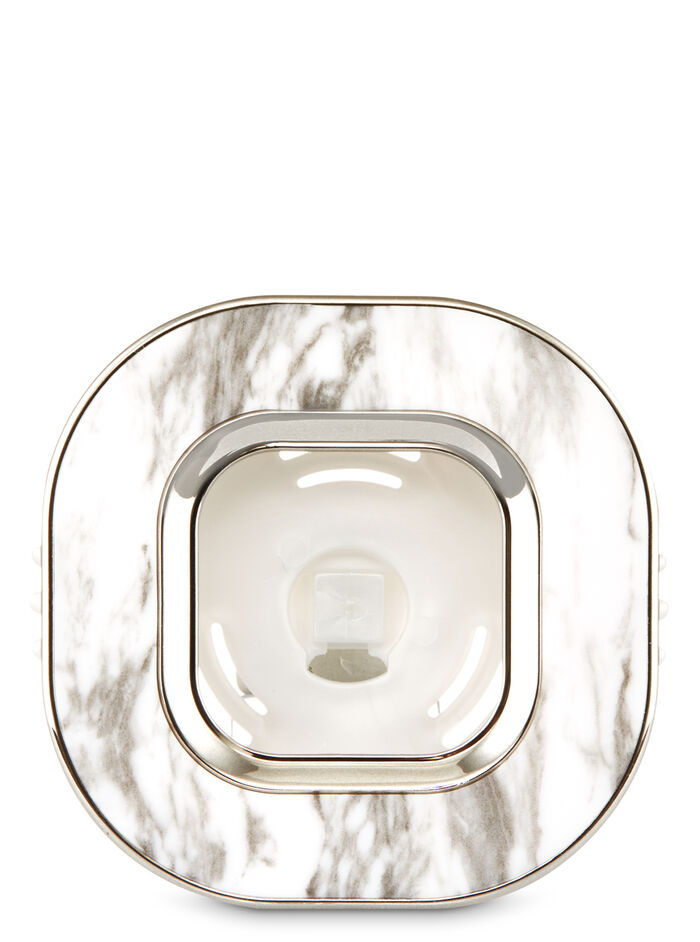 Marble Square Vent Clip fragranza Car Fragrance Holder