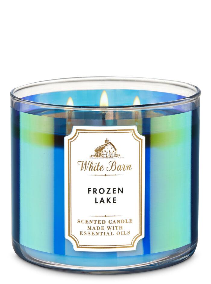 Frozen Lake fragranza Candela a 3 stoppini
