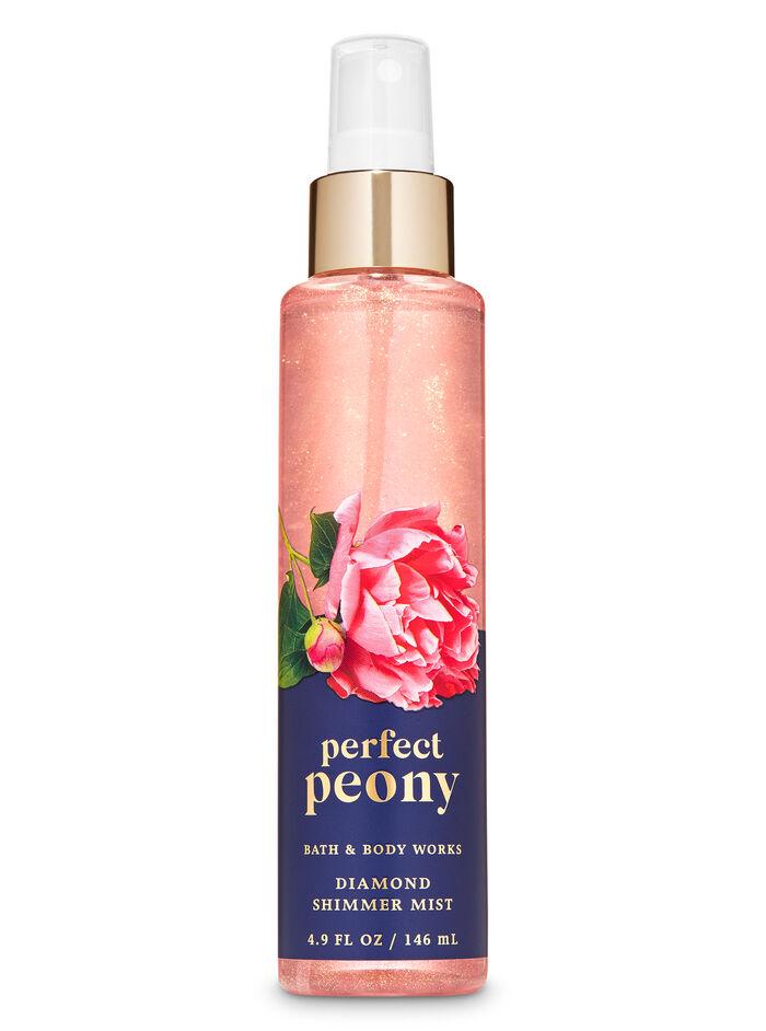 Perfect Peony fragranza Acqua profumata glitterata
