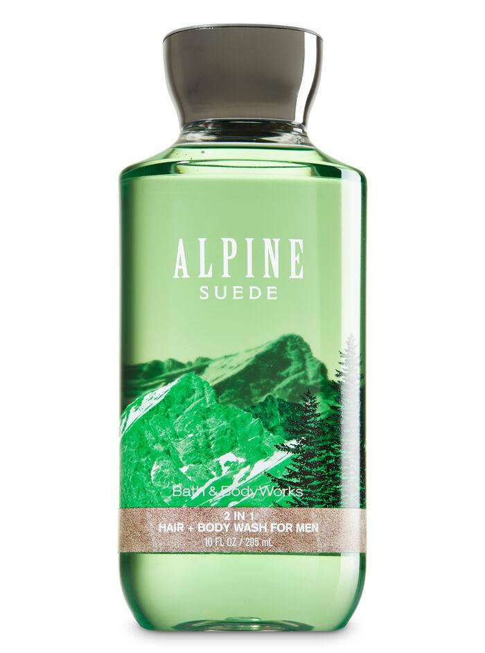 Alpine Suede fragranza 2-in-1 Hair + Body Wash
