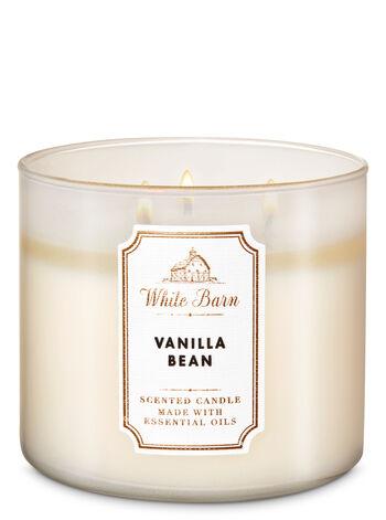 Vanilla bean fragranza Candela a 3 stoppini