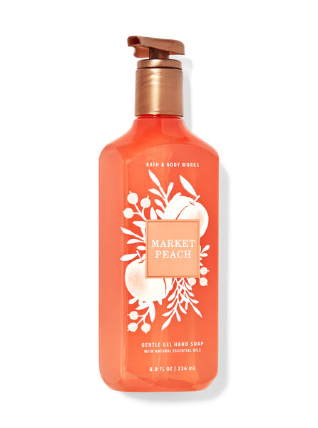 Market Peach fragranza Sapone in gel