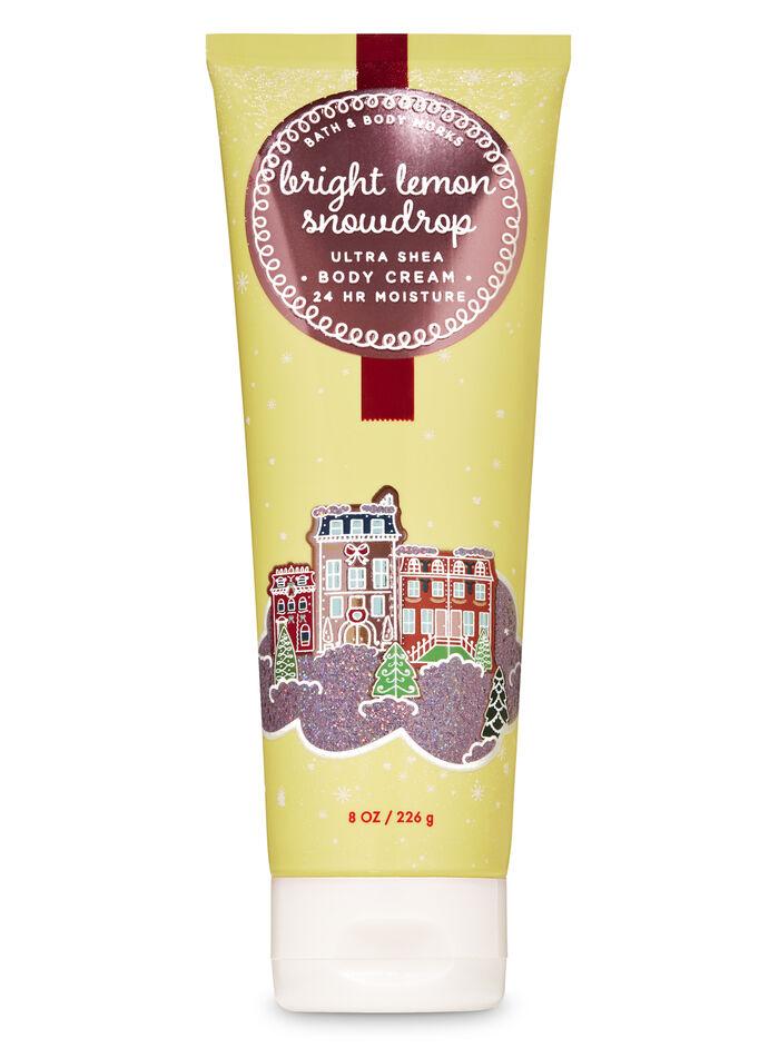 Bright lemon snowdrop fragranza Ultra Shea Body Cream