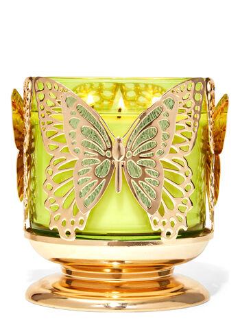 Farfalla fragranza Porta candela a 3 stoppini