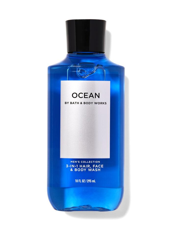 Ocean men fragranza Doccia shampoo 3 in 1