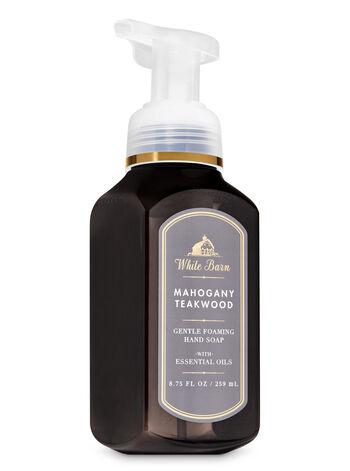 Mahogany Teakwood fragranza Sapone in schiuma