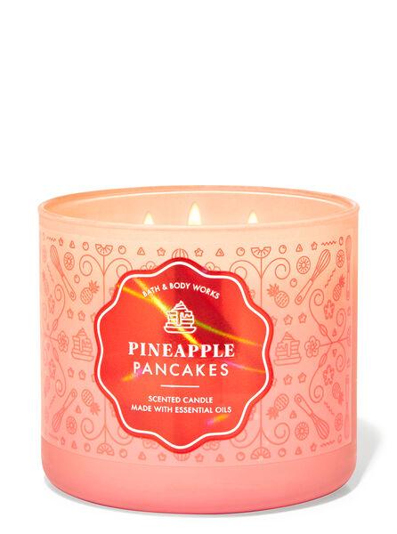 Pineapple Pancakes fragranza Candela a 3 stoppini