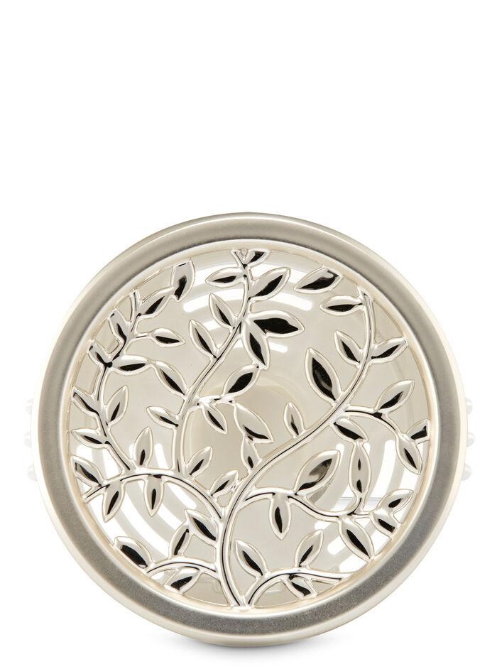 Silver Vines Vent Clip fragranza Car Fragrance Holder