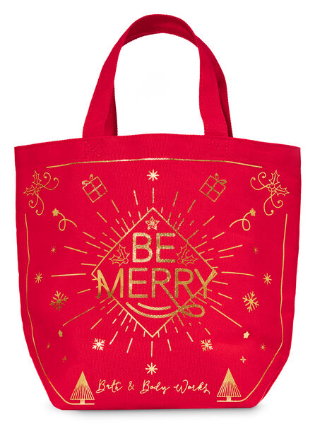 Be Merry fragranza Canvas Gift Bag