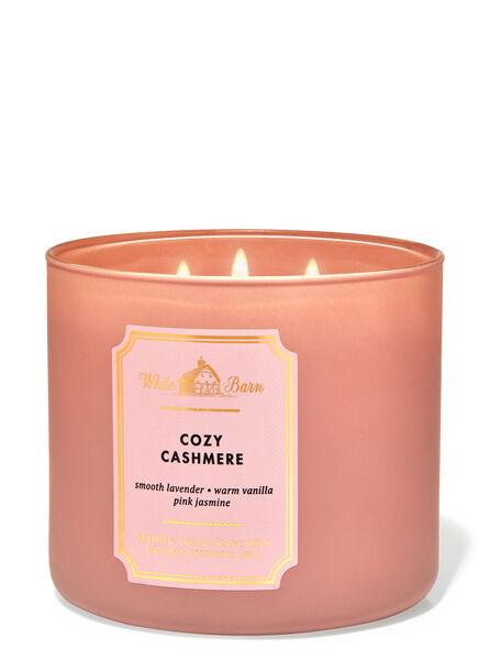Cozy Cashmere fragranza Candela a 3 stoppini