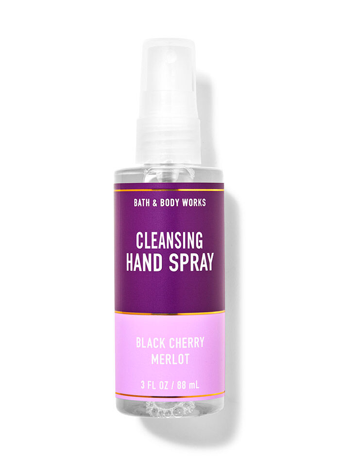 Black Cherry Merlot fragranza Spray igienizzante mani