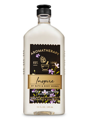 Violet Sndlwd Euc fragranza Body Wash and Foam Bath