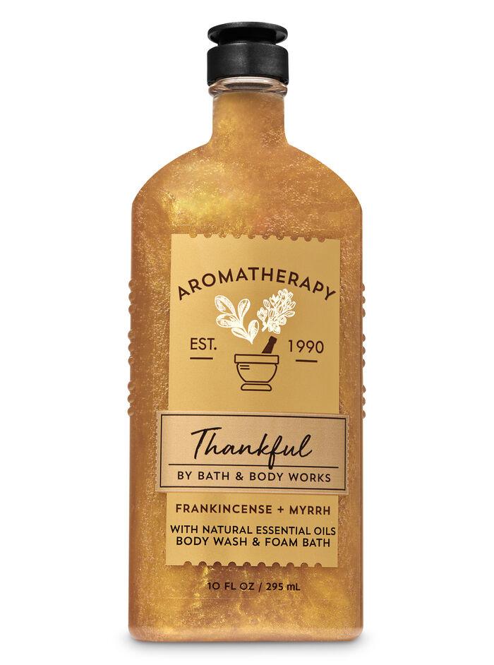 Frankincense Myrrh fragranza Body Wash & Foam Bath