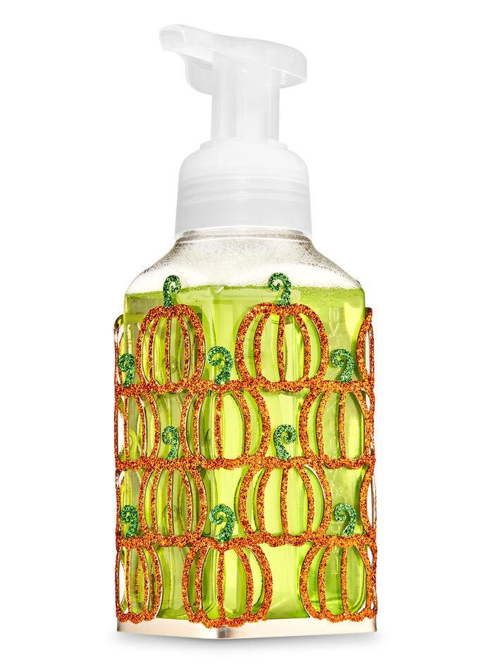 Glittery Pumpkins fragranza Gentle Foaming Soap Holder