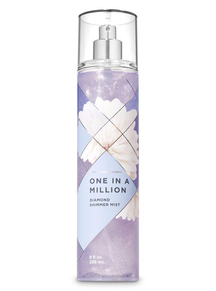 One in a million fragranza Acqua profumata glitterata