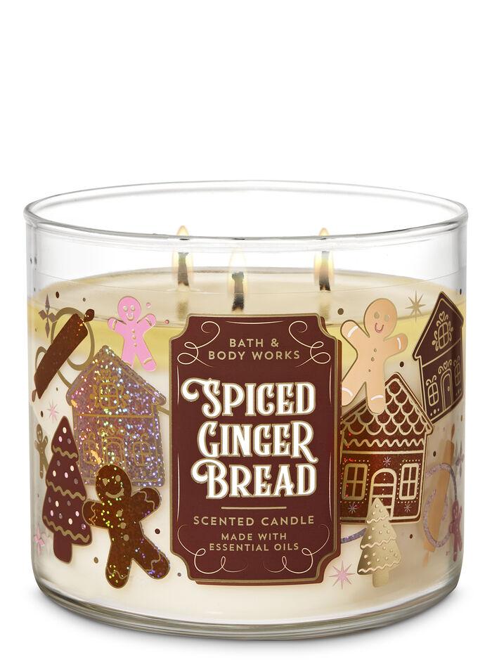 SpicedGingerbread fragranza Candela a 3 stoppini