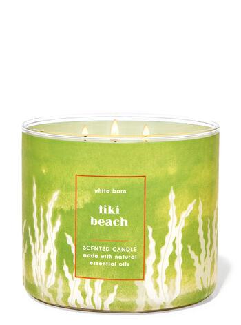 Tiki Beach fragranza Candela a 3 stoppini