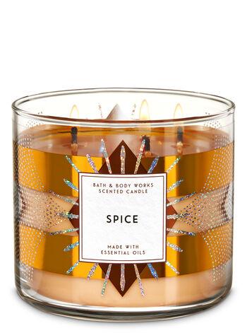 Spice fragranza 3-Wick Candle
