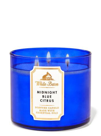 Midnight Blue Citrus fragranza 3-Wick Candle