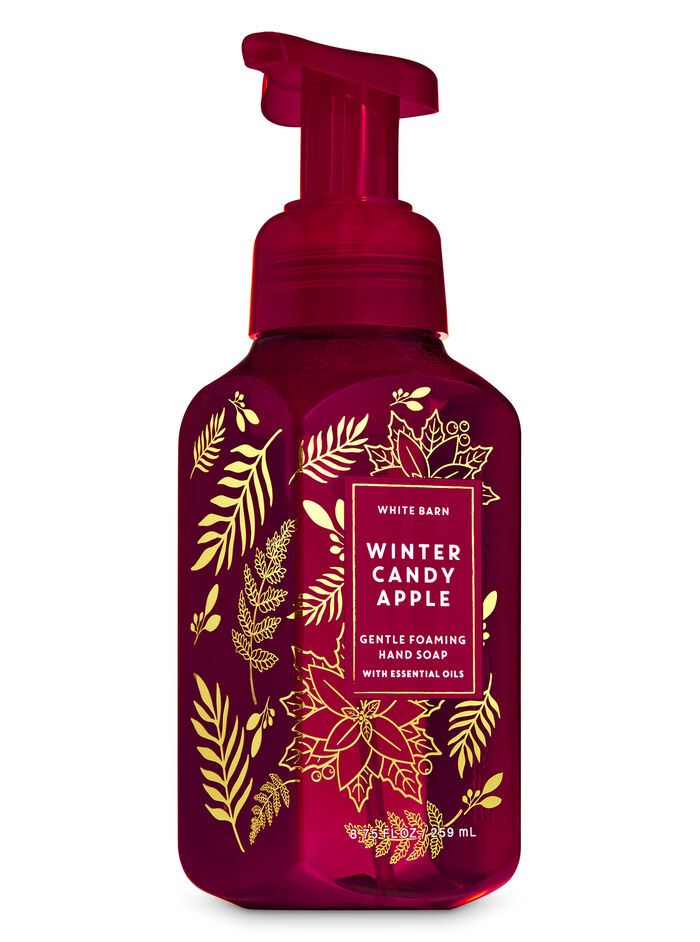 WINTER CANDY APPLE fragranza Sapone in schiuma