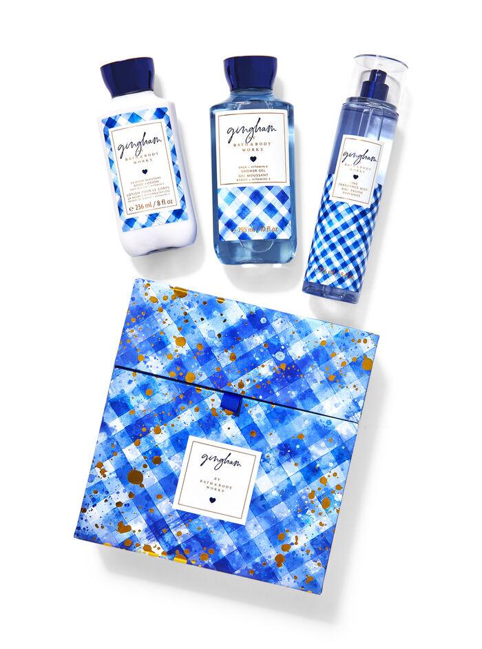 Gingham fragranza Set regalo