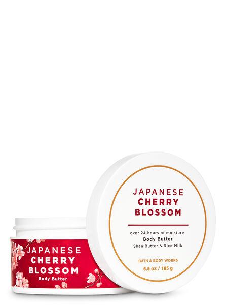 Japanese cherry blossom fragranza Burro corpo
