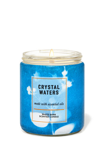 Crystal Waters fragranza Candela a 1 stoppino