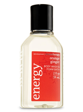 Orange Ginger fragranza Travel Size Body Wash & Foam Bath