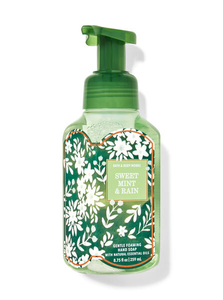 Sweet Mint & Rain fragranza Sapone in schiuma