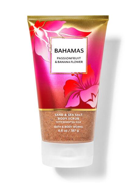 Bahamas Passionfruit & Banana Flower fragranza Scrub corpo con sabbia e sale marino