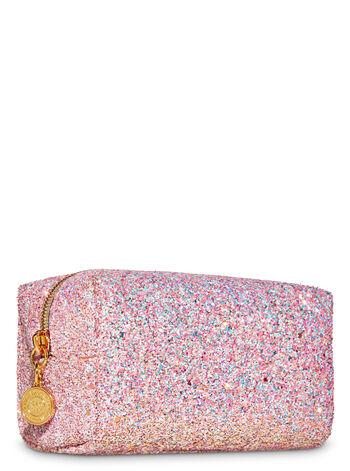 Pink Glitter fragranza Cosmetic Bag