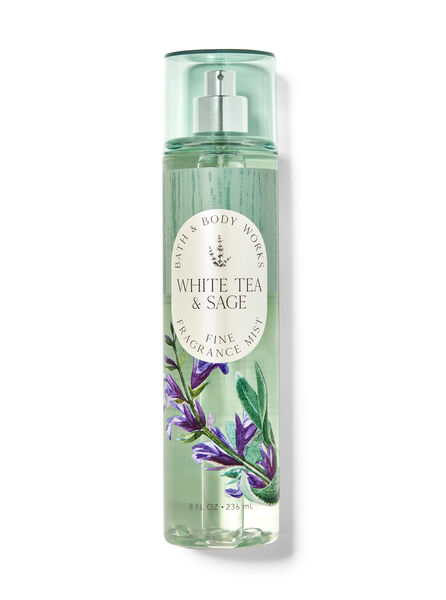 White Tea & Sage fragranza Acqua profumata
