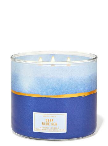 Deep Blue Sea fragranza Candela a 3 stoppini