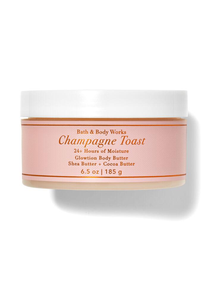 Champagne Toast fragranza Latte corpo glitterato