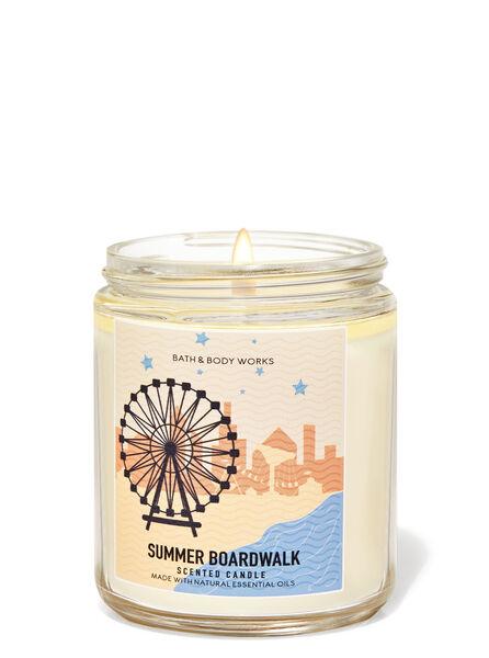Summer Boardwalk fragranza Candela a 1 stoppino