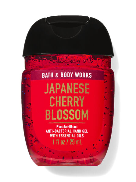 Japanese Cherry Blossom fragranza PocketBac Cleansing Hand Gel